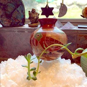 "Other - Nicuraguan Tuscan Round Bottom Vase 4.5"" Campus"